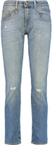 R 13 Distressed boyfriend jeans