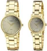 Timex Men's Analog Dial Pair Watch