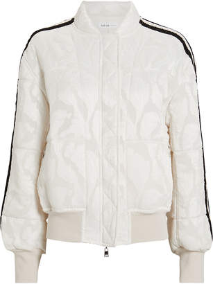 ADEAM Quilted Paisley Bomber Jacket
