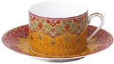 Dhara Deshoulieres Red Tea Saucer