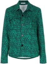 Tomas Maier leopard palm field jacket