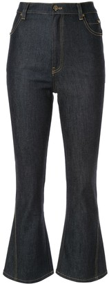 Acler Lewis flared cropped jeans