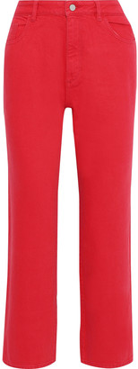 DL1961 Jerry High-rise Straight-leg Jeans