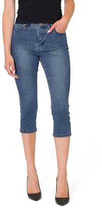 Lola Jeans High-Rise Capri - Lindsey