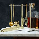west elm Deco Barware Collection - Gold + Marble