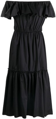 FEDERICA TOSI Off-Shoulder Tiered Dress
