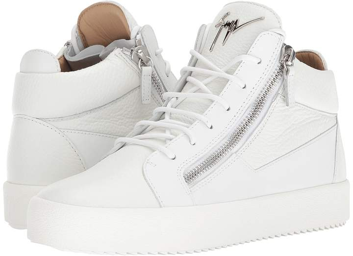 Giuseppe Zanotti May London Tone-on-Tone Mid Top Sneaker Men's Shoes