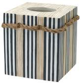 India Ink Beach Novelty Tissue Box Cover Natural/Slate