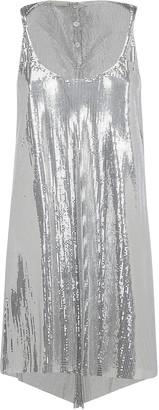 Paco Rabanne Metallic Effect Dress
