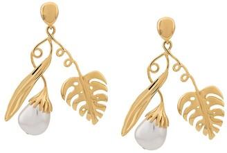 Aurelie Bidermann Grigri clip-on earrings