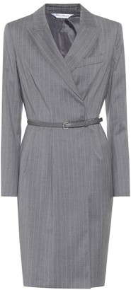 Max Mara Martin belted virgin wool dress