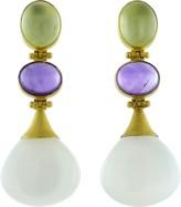 A2 BY ARUNASHI Prenite And Moonstone Earrings