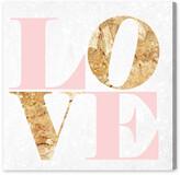 Oliver Gal Build On Love Romance Canvas Art