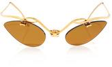 Robin Katz Vintage Jewels Mellerio 18K Gold Sunglasses