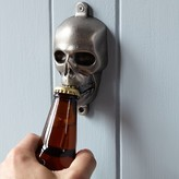 Williams-Sonoma Williams Sonoma Novelty Wall-Mounted Bottle Opener, Skull