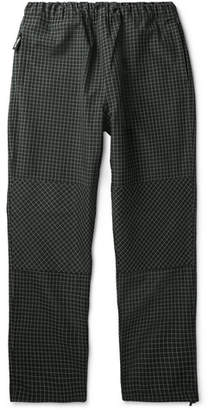 Stussy Checked Canvas Drawstring Trousers