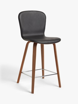 John Lewis & Partners Kasper Leather Bar Chair