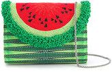 Sarah's Bag - watermelon clutch - women - Cotton/Viscose - One Size