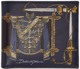Dolce & Gabbana Black Knight Uniform Wallet