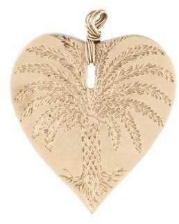 Anaconda 18K Heart Pendant