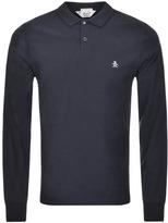 Original Penguin Raised Rib Polo T Shirt Navy