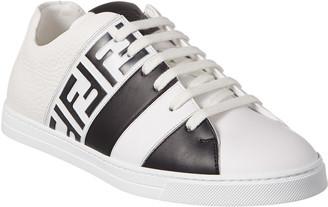 Fendi Leather Band Sneaker