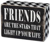 """""""Friends Are The Stars"""" Wooden Box Sign Art"""