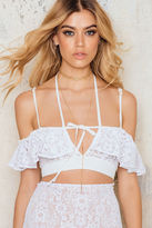 For Love & Lemons Rosemary Crop Top