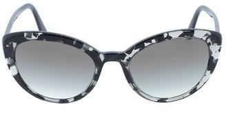 Prada Grey Slim Cat Eye Sunglasses