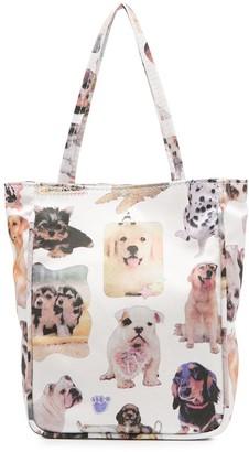 Ashley Williams Dog-Print Mini Bag