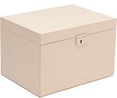 Wolf Palermo Large Jewelry Box, Blush