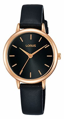 Lorus Womens Analogue Quartz Watch with Leather Strap RG242NX9