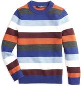 Brooks Brothers Boys' Striped Wool Sweater