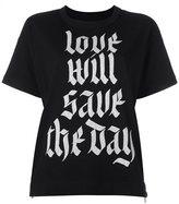 Sacai printed T-shirt - women - Cotton - 3