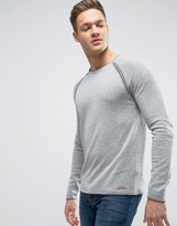 Esprit Knitted Sweater with Exposed Raglan Sleeve