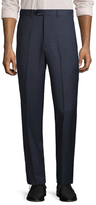 Brooks Brothers Solid Wool Trousers