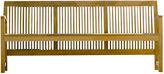 Janus et Cie Praslin 74 Teak Bench, Natural