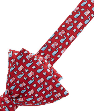 Vineyard Vines Whale & Flag Bow Tie