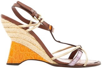 Louis Vuitton Multicolour Leather Sandals