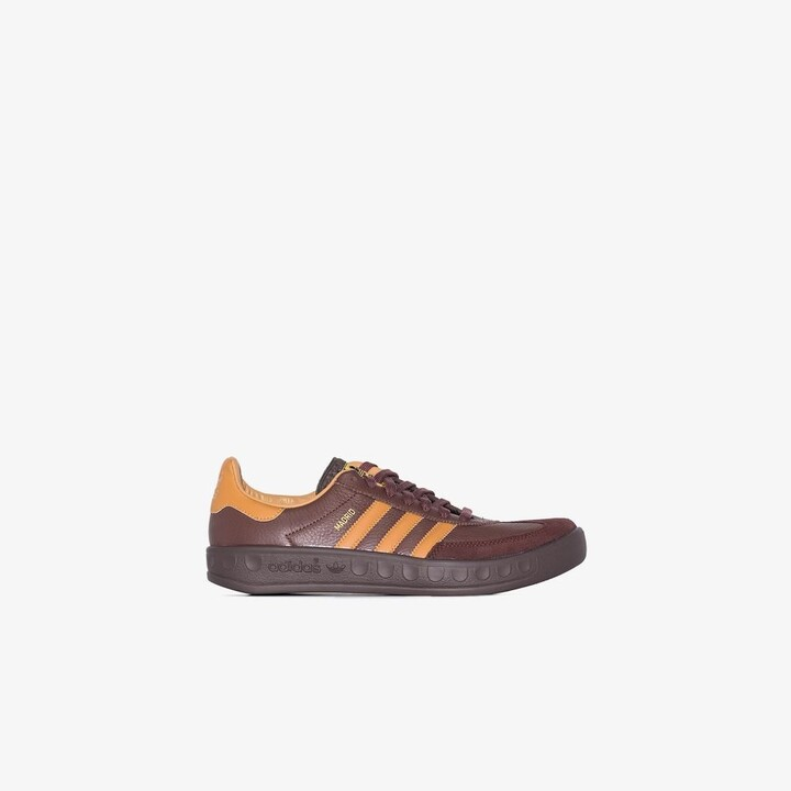 Brown City Series Madrid Leather Sneakers - Men's - Leather/Suede/Rubber/Fabric