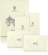 Pineider Vaticano - 25 Ivory Deckle-Edged Note Cards
