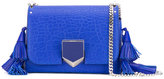 Jimmy Choo Petite Lockett tassel crossbody bag - women - Leather - One Size