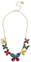 Betsey Johnson Butterfly Dreams Frontal Necklace