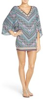 Laundry by Shelli Segal Women's Bohemian Tulip Cover-Up Tunic