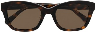 Longchamp Square Frame Sunglasses