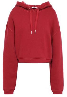 Alexander Wang Cotton-blend Fleece Hoodie