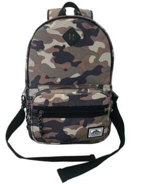 Steve Madden Athletic Nylon Dome Backpack