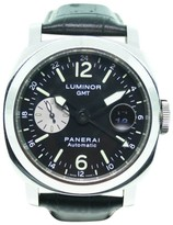Panerai PAM00088 Royal Oak Dual Time Stainless Steel & Leather 44mm Watch