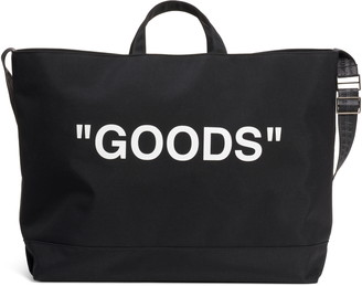Off-White Off White Goods Quote Tote