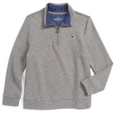 Vineyard Vines Toddler Boy's Quarter Zip Sweater